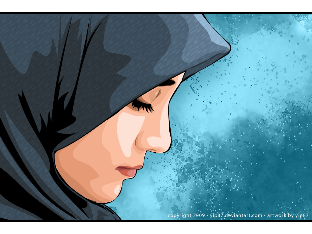 Kartun Islami Karang Muslim